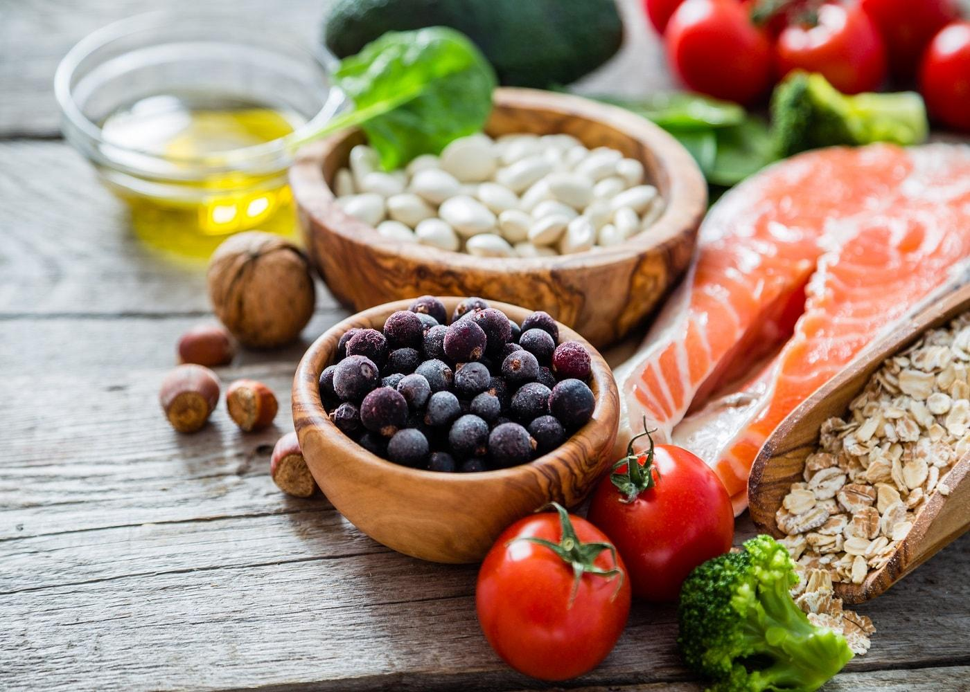 Fresh Food that is good for the heart