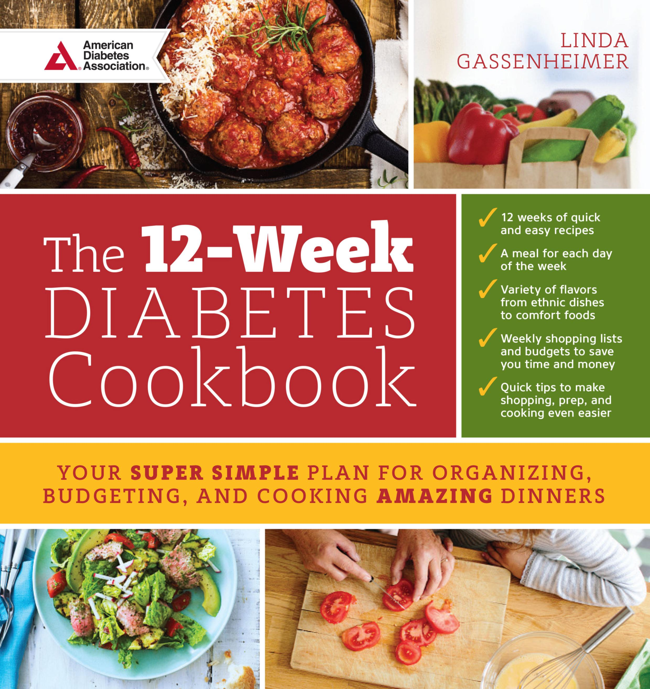 the 12 week Diabetes cookbook cover